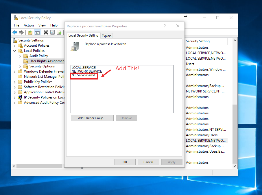 Enable Microsoft's New Built-In SSH Server (& Client) In